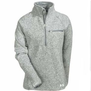 NEW Under Armour Women's half-zip - Size Small